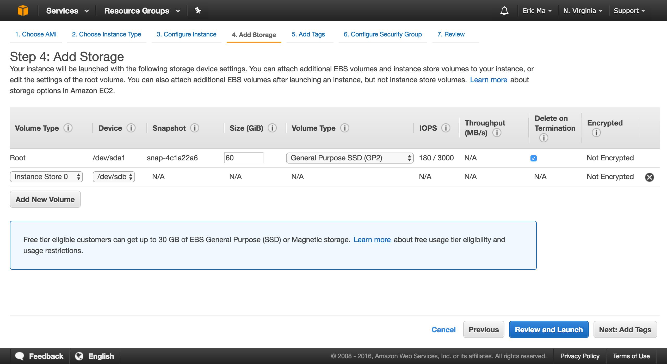 add more storage to ec2 instance